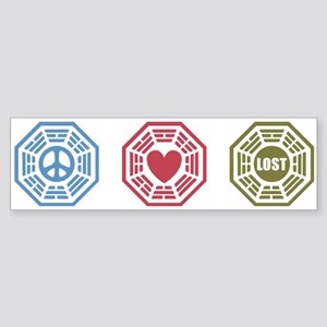 Peace Love Lost [dh_i] Sticker (Bumper)